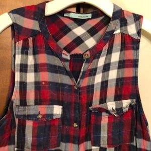 MAURICES tank button down